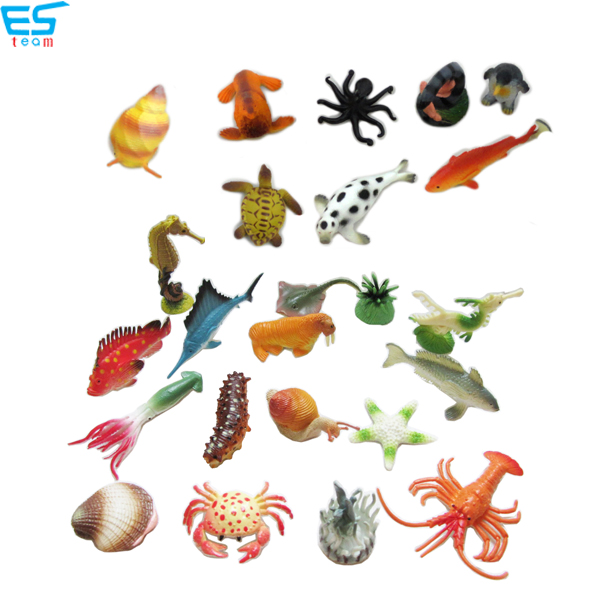 1.5inch-3.25inch ocean animal figurine