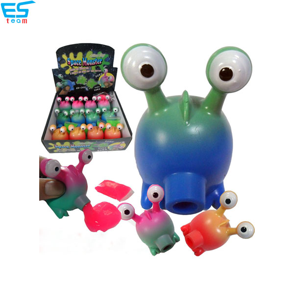 slime space monster toy set