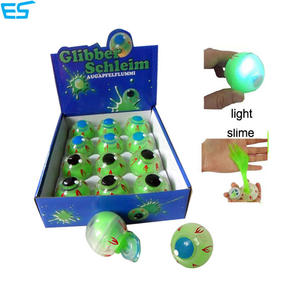 bouncing light up slime eyeball